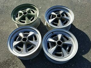 Pontiac Gto Judge Jl Rally Ii Wheels Set Of 4 Date Matched Nov 24 1969