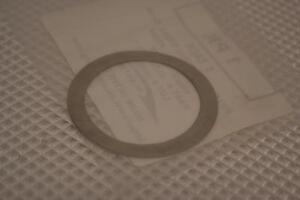 One New Package Of 5 Seastrom Stainless Steel Shims washer A370 1031 1