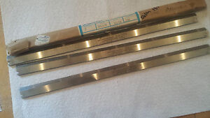 Set Of 3 5 32 X 13 Hss Planer Knives blades Nos Usa Delta Planer l 119 11