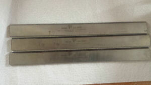 Set 3 1 8 X 1 1 8 X 12 Hss Jointer Or Planer Knives blades Usa l 119 6