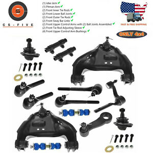 14pc Kit Complete Front Suspension Kit For Chevy Blazer S10 Gmc Jimmy Sonoma