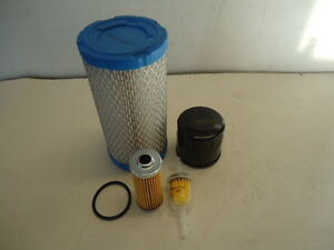 Engine Filter Maintenance Service Kit For John Deere 1026r 1023e Compact Tractor