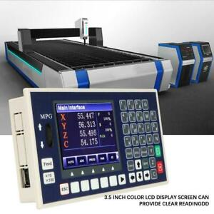 4 Axis Mpg Cnc Controller 3 5 Color Lcd 400khz Servo Stepper Controller Lathe