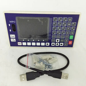 3 Axis Cnc Controller Usb Stick G Code Spindle Control Panel Mpg Stand Alone