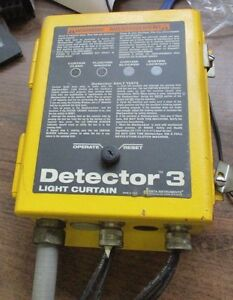 Data Instruments Detector 3 Light Curtain Control 3lc b