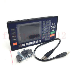 3 Axis 3 5 Lcd Usb Cnc Controller Rs485 Servo Stepper Motor Control System New