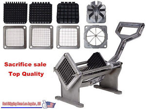 Choice 4 Blades Stainless Steel French Fry Cutter Potato Cutter Slicer