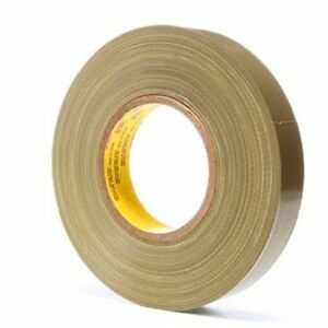 3m Scotch Polyethylene Cloth Tape 390 Olive 1 X 60 Yd 1 Roll