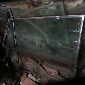 1961 Galaxie Starliner Factory Oem Front Door Glass In Tint W Nos Look