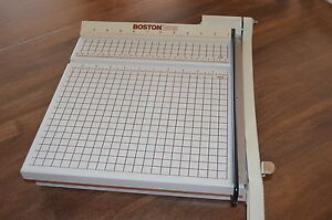 boston 2615 paper cutter manual