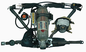 Scott 4 5 Ap50 Scba 2002 Edition W Hud s Rit Etc Overhauled Ready To Use