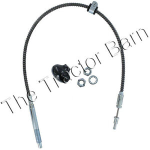 Sherman Transmission Shift Cable And Knob Kit Ford Massey Ferguson 10b195