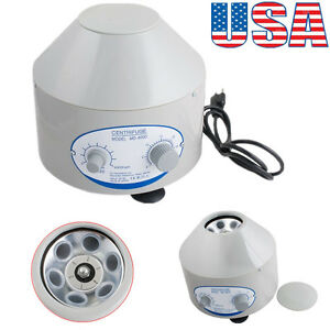 Usa Seller Electric Centrifuge Machine 4000rpm Lab Medical Practice 4000r min Ce