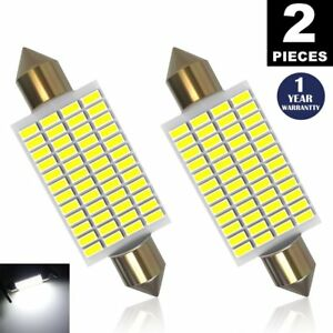 Luyed 2 X 570 Lumens Super Bright 3014 48smd 578 211 2 212 2 Led Bulb White