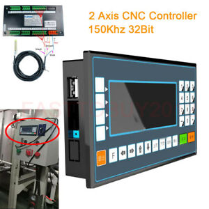 2 Axis Cnc Motion Controller 18di 8do 150khz Control System For Milling Lathe