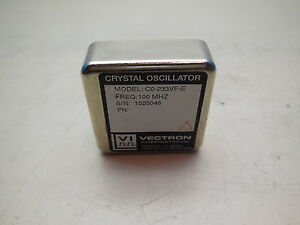 Vectron Co 233vf e Crystal Oscillator 100 Mhz With 14 Day Warranty