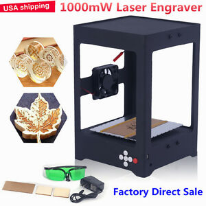 1000mw Diy Laser Usb Engraver Cutter Engraving Carving Machine Printer Cnc Usa