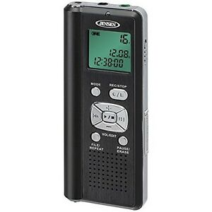 Jensen Dr 115 Audio Digital Voice Recorder With Micro Sd Card Slot New