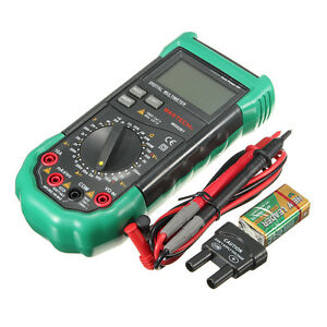 Mastech Ms8261 Lcd Backlight Display Digital Multimeters Ac dc Volt Amp Hfe Test