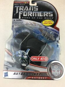 Transformers 3 Dark Of The Moon Exclusive Deluxe Action Figure Autobot Jazz