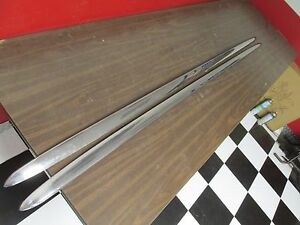 1952 Mercury Lh And Rh Lower Quarter Panel Trim Nos Ford 1115