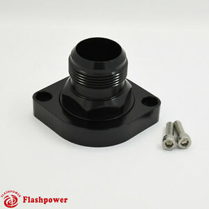 Billet Swivel Thermostat Housings Water Neck 180 An20 Ls Engine Black