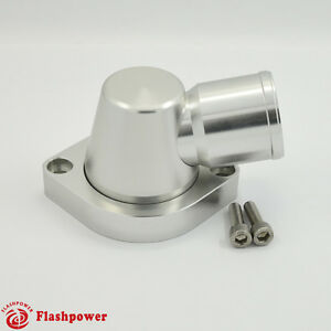 Billet Swivel Thermostat Housings Water Neck 90 1 5 Ls Engine Clear