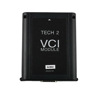 Black Vci Module Adapter For Gm Tech2