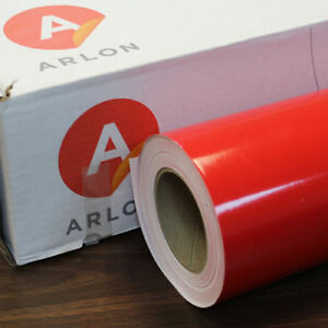 Red Arlon 5000 1 Roll 24 X 50 Feet Sign Cutting Vinyl