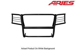 03 07 Gmc Sierra 1500 Classic Black Semi Gloss Front Grille Brush Guard Aries
