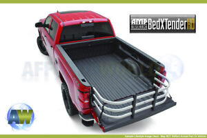 Amp Research Bedxtender Hd Max Silver 2004 2018 F 150 Mark Lt 2007 2018 Tundra
