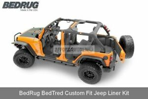 07 10 Jeep Wrangler Jk Unlimited Only 4 door Custom Bedtred 5pc Cargo Liner Kit