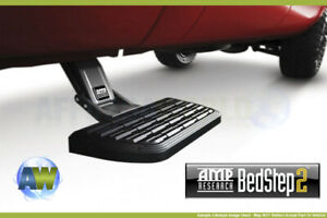 07 17 Ram 3500 Dually Amp Research Bedstep2 Truck Side Cab Retractable Bed Step