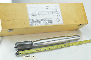 Kyocera Unimerco 45 135mm Pcd Tipped Solid Carbide Head Mill Reamer Combination