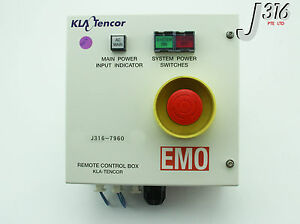 7960 Kla tencor Pacific Power Control Remote Box Emo 0025409 000