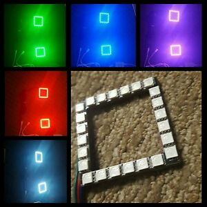 3 Led Pod Color Changing Rgb Halos W Remote Kit Best Quality Available