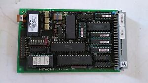 Hitachi Used Lan1 4 Pcb Board For M 511e Microwave Plasma Etching System