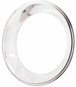 15 X 7 Wheel Beauty Band Trim Rings 15x7 Chrome Stainless Chevy Rally Gmc Gm