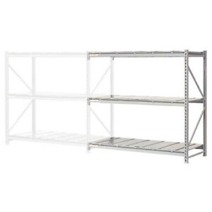 Extra High Capacity Bulk Rack With Steel Decking Add on Unit 96 w X 24 d X
