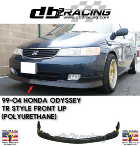Tr style Front Lip urethane Fits 99 04 Honda Odyssey Front Lip Type R Jdm Vip