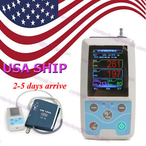Contec Ambulatory Blood Pressure Monitor software 24h Nibp Holter Abpm50 fda Ce