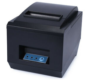 80mm 300mm sec Usb Thermal Receipt Printer Auto Cutter Pos 8250 For Ios