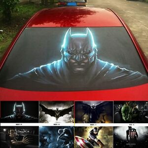 3d Transparent Car Back Rear Window Decal Vinyl Sticker Monster Batman