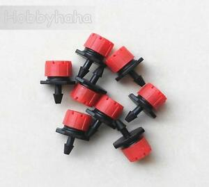 500pcs Agricultural Garden Lawn Irrigation Drip Plastic Micro Dripper 1 4 Hose