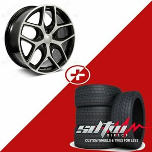 17 Svt Focus Style Wheels With Tires Fits Ford Fusion Focus 5x108