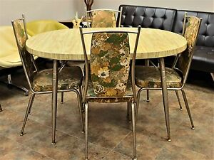 Vintage Lloyd Table And 4 Chairs Division Of Heywood Wakefield Mcm