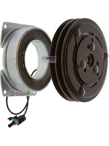 Aftermarket York Type Ac Compressor Clutch 2 Grooves Replaces 501939 024 21590