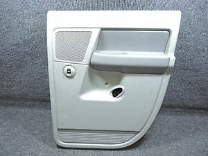 2006 2008 Dodge Ram Quad Cab Slate Gray Passenger Side Rear Door Panel Oem