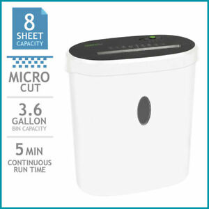 Goecolife Limited Edition 8 sheet Micro cut Shredder Shred Credit Cards Black