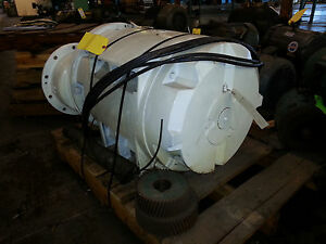 Rebuilt Sullair 100hp Electric Motor Odp 405us With Gears Ls20 Ls20 100l a sul